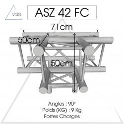 ASD - Carrée 290 FC - 4 départs pied