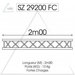 ASD - Carrée 290 FC - 2m