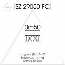 ASD - Carrée 290 FC - 0,50m