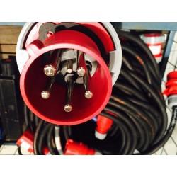 Câble prolongateur 32A Tétra - 5 m 10 m 20 m