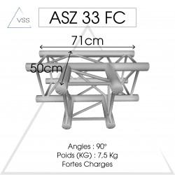 ASD - Carrée 290 FC - 3 départs horizontal