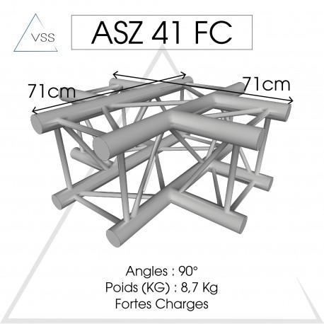 ASD - Carrée 290 FC - 4 départs horizontal
