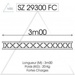 ASD - Carrée 290 FC - 3m