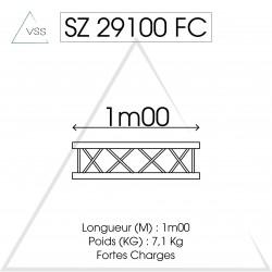 ASD - Carrée 290 FC - 1m