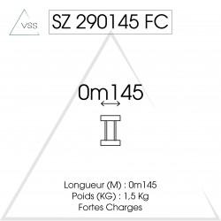 ASD - Carrée 290 FC - 0,145m