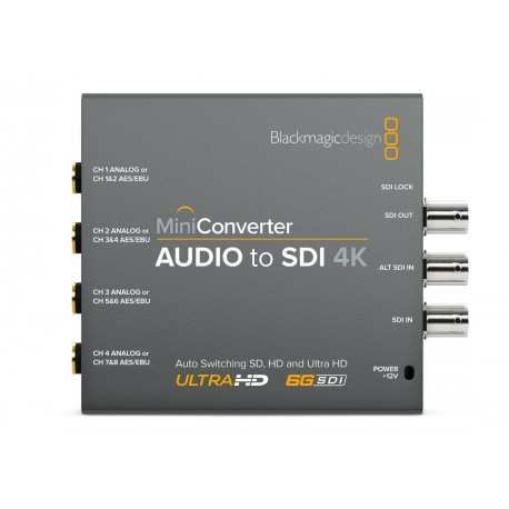 BLACKMAGIC - Mini converter Audio vers SDI